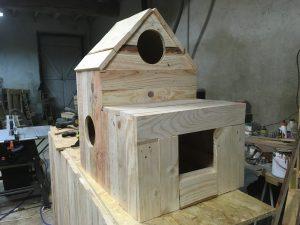 Maison à chats