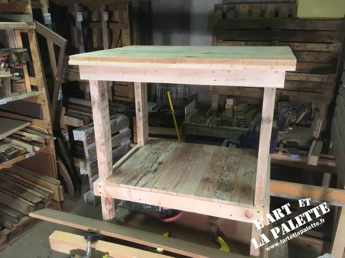 Meuble En Palette Salle De Bain meubles : meuble pour salle de bain - l'art et la palette